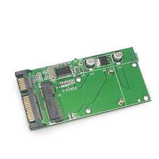 "5pcs mSATA SSD Female To 2.5"" 7+15 Pin SATA & Mini USB 5pin Converter Adapter"