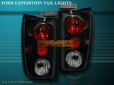 1997-2002 FORD EXPEDITION ALTEZZA TAIL LIGHTS BLACK SMOKE G2 1998 1999 2000 2001