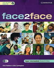 CAMBRIDGE Face2face Upper Intermediate Student's Book with CD-ROM/Audio CD @NEW@