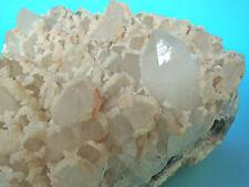 Top Cristallo Quarzo livello con calzit, chalkopyrit... 18x14x10 cm Romania 4,140 kg