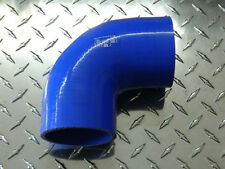 "Silicone Hose Pro 90 Degree Elbow/Bend 3"" (76mm) 4 Ply"