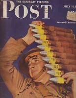 1942 Saturday Evening Post  July 11-St Nazaire Raid;Hitler's Women; Fort Belvoir