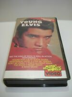 YOUNG ELVIS COLLECTOR'S EDITION DOCUMENTRY VHS VIDEO TAPE PAL FREE POSTAGE