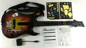 Playstation 3 PS3  Guitare et son Recepteur Dongle Notice Guitar Hero Word Tour