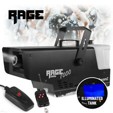 RAGE 1000 Snow Effect Machine 2L Illuminated with Wireless Control *2019 Model*