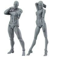 Drawing Figures For Artists Action Figure Human Mannequin Man and Woman