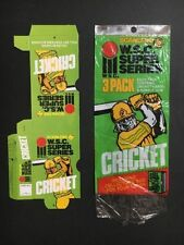 Scanlens Box Cricket Trading Cards