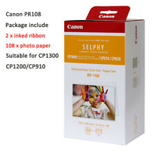 Photo Paper for Canon RP108 KP108in KL36 KC36ip CP1300 CP1200 Ink Cartridge