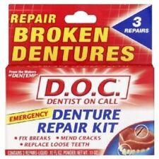 Dentemp (D.O.C) Emergency Denture Repair Kits