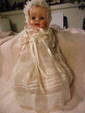 "12"" vintage American Character baby doll of the 50's in beautiful outfit"
