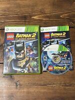 LEGO Batman 2: DC Super Heroes (Microsoft Xbox 360, 2012)- Complete