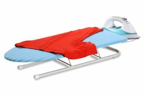 Honey-Can-Do Table-Top Ironing Board Steel-Iron Rest Compact Sturdy Collapsible