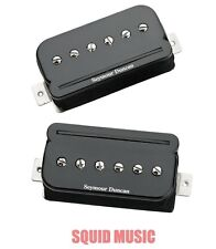 Seymour Duncan P-Rails SHPR-1s Black Pickup Set P 90 Sound In a Humbucker Size