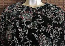 Women's TRÈS PAQUETTE Black Velvetesque Jacket/Shirt ~ Size M