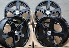 "ALLOY WHEELS X 4 18"" BLACK VIPER 950KG FOR FORD TRANSIT CUSTOM SPORT"
