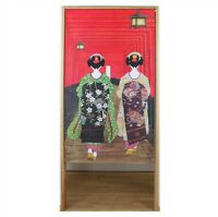 NOREN JAPANESE Curtain Doorway Divider Tapestry JAPAN MADE 85x150 Kyoto 14271