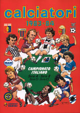 MANCOLISTA FIGURINE SCUDETTI CALCIATORI PANINI 1983-84 83-84 NUOVE NEW OTTIME