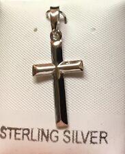 Pendant slider .925 Sterling Silver Cross