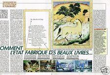 Coupure de Presse Clipping 1989 (2 pages) L'Imprimerie Nationale