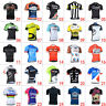 New Mens Team Outdoor Sports Cycling Bike Short Sleeve Jersey Tops Size S-3XL