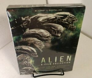 Alien 6 Movie Collection (Blu-ray-No Digital) Discs Unused-SHIPPING w/Tracking
