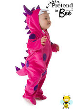 BABY TODDLER GIRLS LITTLE PINK MONSTER ANIMAL FANCY DRESS OUTFIT COSTUME AGE 1-3
