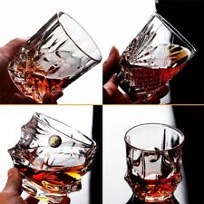 High Quality Crystal Whiskey Glass 1PC Cups Creative Scotch Glasses Drinkware