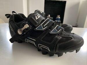 L Garneau Ergo Grip HRS-80 Black Bike Cycling Shoes Size Uk 5.5 Eur 39 Womens
