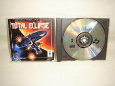 TOTAL ECLIPSE 3DO Real Panasonic Japan Video Game 3d