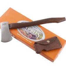 "Marbles #9 Belt 14 5/8"" Axe Hatchet Hardwood Handle MR9 Camping Hunting Sheath"