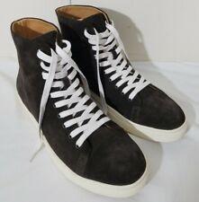 New Republic Mark McNairy Dark Brown Suede High Top Sneakers Shoes Mens 11 NWOB