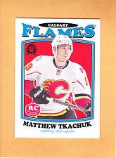 MATTHEW TKACHUK 2016 17 O PEE CHEE RETRO ROOKIE # 681 CALGARY FLAMES