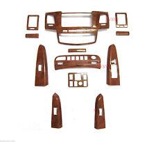 FOR TOYOTA Hilux SR5 Wood Grain Dash Board Console 4 Doors Vigo Sr  Mk7 Auto 12+