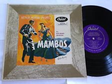 "The Rico Mambo Orchestra - Arthur Murray Favorites Mambos 10"" H 261 Capitol LP"