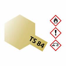 (27,26€/100ml) Tamiya TS-84 Metallic Gold glänzend 100ml Sprayfarbe Kunstharz 30