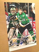 Olivier Galipeau SIGNED 4x6 photo VAL D'OR FOREURS