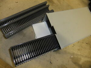 Slide 35mm cassette straight magazine x 2 35 slide capacity - CASE fits Hanimex