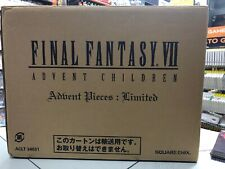 Final Fantasy VII Advent Children Advent Pieces:Limited (con box) NUOVO