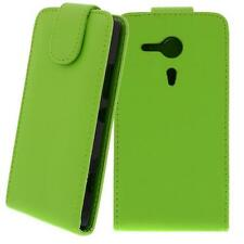 pour Sony Xperia SP / M35H Vert - Sac en similicuir,Housse portable,Coque,Coque