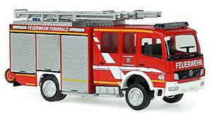 Mercedes Benz Atego HLF 20/16 Feuerwehr Fernwald-Steinbach 1:87 Rietze 68200