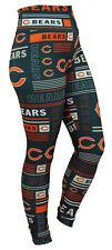 Zubaz Nfl Chicago Bears Women's Team Column Leggings