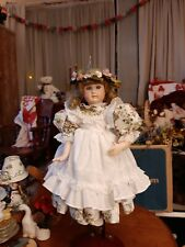 Beautiful Reproduction Sfbj 236 15-Inch French Doll In Woodland Fairy Dress