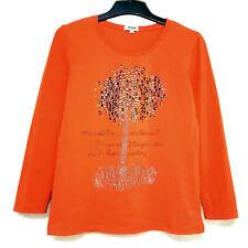 M  Orange Pullover