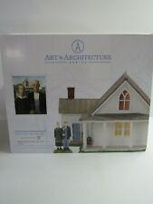 Dept 56 New England Village American Gothic 4056684 Set Of 2 Mip