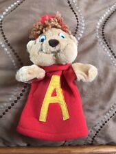 Vintage 1990 Alvin And The Chipmunks Plush Hand Puppet