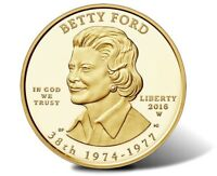 2016-W $10 Gold First Spouse - Betty Ford EARLY RELEASE ER -PF70 Ultra cameo