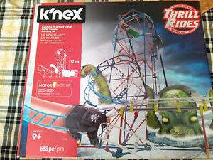 K'Nex Thrill Rides Kraken's Revenge Motorized Rollercoaster Building Set