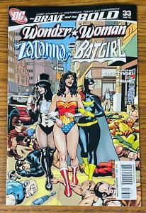 BRAVE AND THE BOLD #33 Prelude to Killing Joke BATGIRL ZATANNA WONDER WOMAN DC