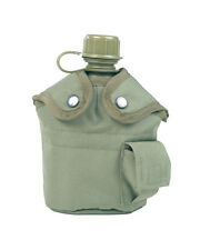 US Feldflasche Kunststoff mit Becher und hülle Oliv Mil-Tec