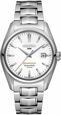 Roamer Herren Armbanduhr  Searock Automatic 42 mm  Armband Edelstahl 210633 41 2